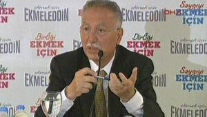 Ekmeleddin İhsanoğlu Eskişehir'de konuştu