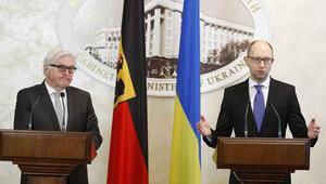 Almanya Dışişleri Bakanı Steinmeier Ukraynada