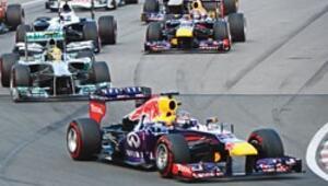 Vettel Kanada'da uçtu