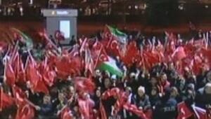 İstanbulda miting gibi karşılama