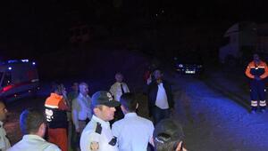 Erzurum'da atlama kulesi pist inşatında toprak kayması: 2 işçi yaralı