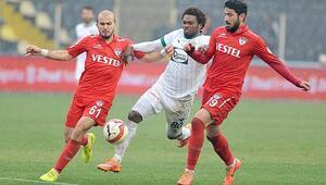 Manisaspor 1-1 Akhisar Belediyespor