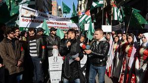 Çerkezlerden olimpiyat protestosu