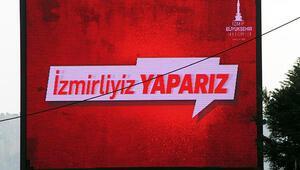 İşte İzmir Büyükşehir Belediyesinin yeni sloganı