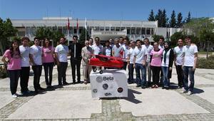 Üniversitelilerin insansız hava aracı