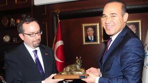 ABD Büyükelçisi John Bass, Adana Belediye Başkanı ile görüştü