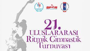İzmir'de ritmik cimnastik şöleni