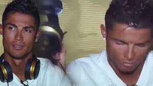 Ronaldo sinirlendi ve yayını terk etti