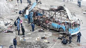 Rusyanın Volgograd şehrinde troleybüse intihar saldırısı