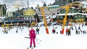 Uludağ'a kar erken geldi, sıra festivalde