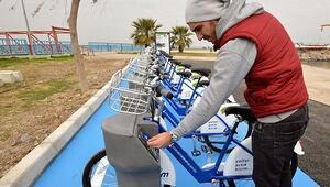 İzmirin yeni bisikletleri yola çıkacak