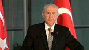 Bahçeli: MHP başarıya imza attı