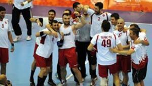 Erkekler hentbolda Türk Milli Takımı bronz madalya kazandı