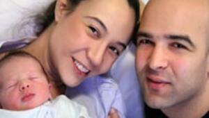 Murat Evgin baba oldu