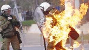 Yunan ordusu alarmda