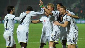 Gaziantepspor 0 - 5 Fenerbahçe