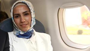 Uçaktaki MHP'li Aydın, Sümeyye Erdoğan'ı anlattı