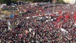 Taksim'de Gezi mitingi