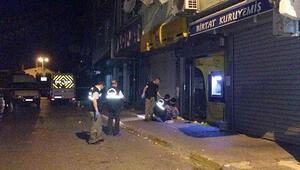 Maltepede PTT şubesine ses bombası atıldı