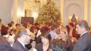 Bloomberg'ün rezidansında yılbaşı partisi