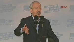 Kılıçdaroğlu Kırklarelinde konuştu
