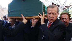 Erdoğan, avukat İnci ile iş adamı İbrahim Cevahir'in cenaze namazlarına katıldı
