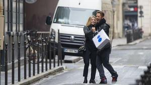 Chris Martin ve Annabelle Wallsın Paris romantizmi