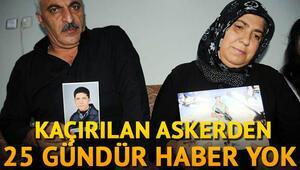 PKK'LI teröristlerin kaçırdığı askerin yakınları iyi haber bekliyor