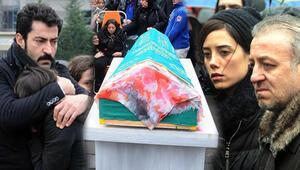 Minik Ecenin cenazesinde gözyaşları sel oldu
