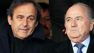 Blatter ve Platini'ye bir darbe daha