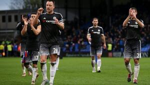 Chelsea, Hiddink yönetiminde ilk galibiyetini aldı