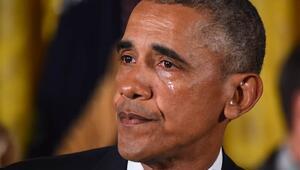 Obama'nın gözyaşları tepkiye neden oldu