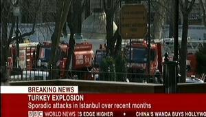 Dünya Sultanahmetteki patlamayı böyle gördü