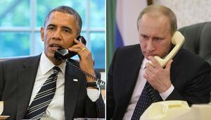 Obama, Putin ile Ukrayna ve Suriye'yi konuştu