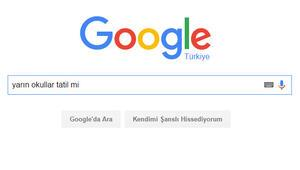Google'da en çok 'kar tatili' arandı!