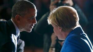 Obama Merkel ile telefonda görüştü