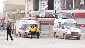 Cizre ambulansı en fazla 400 metre, sonra kurşun
