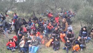 Çanakkale'de 572 kaçak göçmen yakalandı