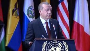 Erdoğan: Suriye topraklarının kuzeyinde bir şehir kuralım