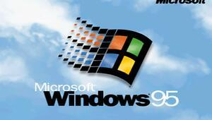 Windows 95 geri döndü