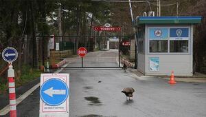 Yunanistan sınır kapısında giriş çıkışlar durdu