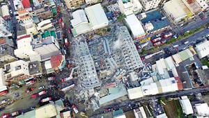 Deprem binayı yatırdı