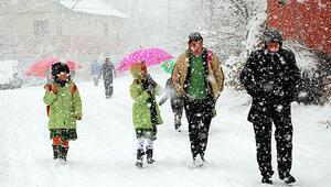 Bayburt, Kars ve Ağrı'da eğitime kar engeli