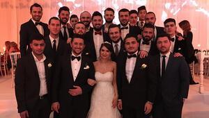 Beşiktaşlılar düğünde buluştu