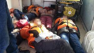 Ege'de mülteci faciası