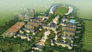 Tatil köyü değil futbol tesisi!