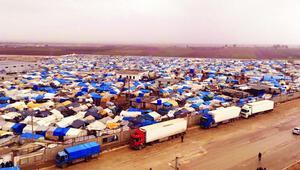 Halep sınıra taşındı