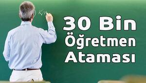 30 bin Öğretmen Ataması Sonuçları Açıklanıyor! - Şubat ataması 2016