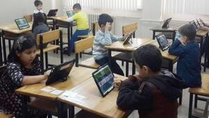 Tablet bilgisayarla grup taraması
