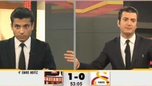 GS TV'de 'amann… aman…' tepkisi
